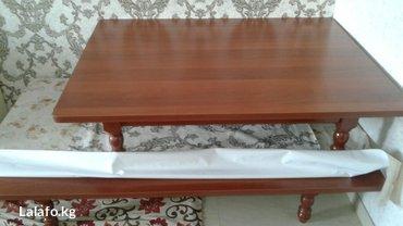 Продаю новые столы комплект,размер в Бишкек