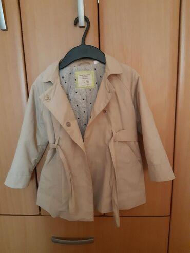Dečije jakne i kaputi | Novi Sad: Zara mantilic za devojcicu. Perfektno ocuvan