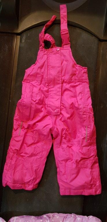 Decije-jakne - Srbija: Decije pantalone-skafander,velicina 74-80(12-18 meseci)
