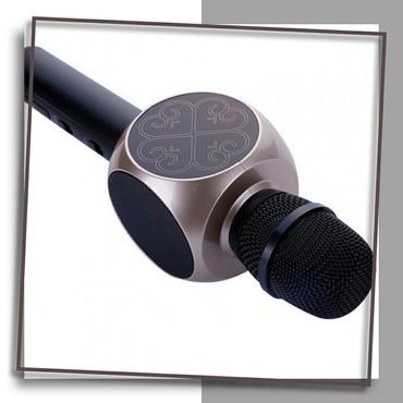 акустические системы promate беспроводные в Кыргызстан: Беспроводная портативная колонка + караоке микрофон Magic Karaoke