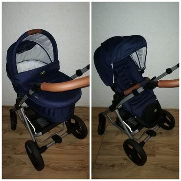 Farmerice plave tamno - Srbija: Moderna, udobna i očuvana kolica marke Baby One (Kupljena u
