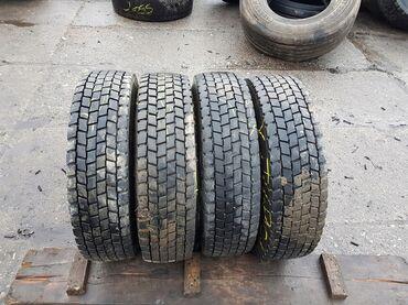 шины диски грузовые в Кыргызстан: R17.5,R19.5,R20,R22.5 грузовые б.у шины - передняя ось, задняя ось