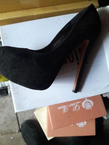 черное вышитое платье в Кыргызстан: Туфли