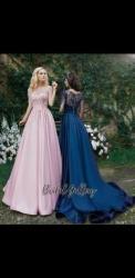 вечерние платья со шлейфом в Кыргызстан: Шикарное платье Новое (цвет Розовый)Заказывали из Украины за 230$