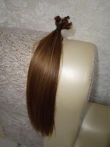 Продаю волосы для наращивания. 55см. В отличном состоянии