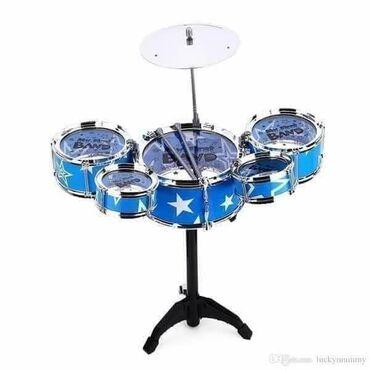 Bubnjevi u setu sa stolicom  🏷🏷AKCIJSKA CENA 2500 dinara🏷  ❤Dostupno u