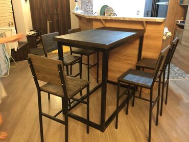 мягкая мебель бу из европы в Кыргызстан: Мебель на заказ | Стулья, Кухонные гарнитуры, Столы, парты | Самовывоз, Бесплатная доставка