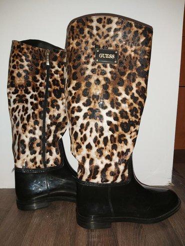 Guess-by-marciano-pantalone-slim-m-e - Srbija: Original Guess cizme, gumeni donji deo, postavljene iznutra, gore