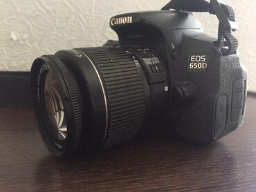 canon fotoaparat - Azərbaycan: Canon 650 d fotoaparat satiram. Ustada olmayib, hec bir problemi