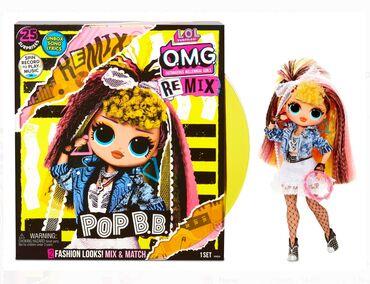 b u barsetku в Кыргызстан: L.O.L. Surprise! O.M.G. Remix Pop B.B. Fashion Doll – 25 Surprises