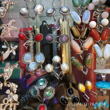 Наборы,серьги,бусы (камни), в Бишкек