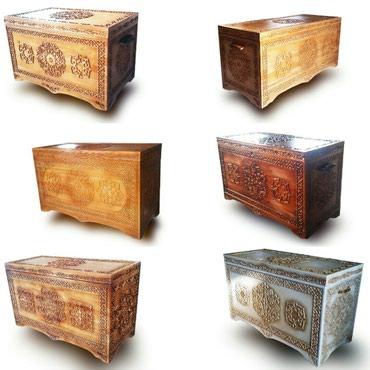 52 объявлений: Резные деревянные сундуки с национальными узорами для приданного
