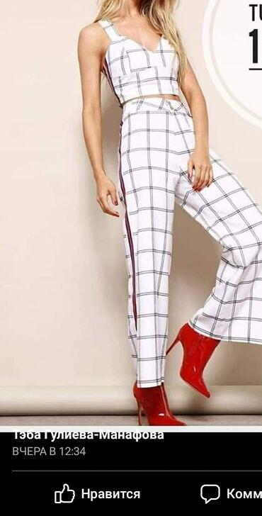 женские-брюки-новые в Азербайджан: М размер