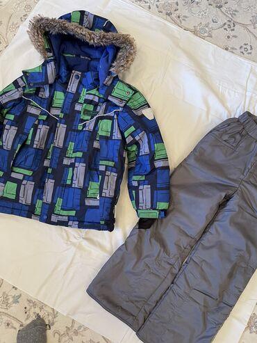 лыжный костюм бишкек цены in Кыргызстан | ВЕРХНЯЯ ОДЕЖДА: Детский зимний, лыжный костюм на мальчика 5-6 лет. Цена 2800
