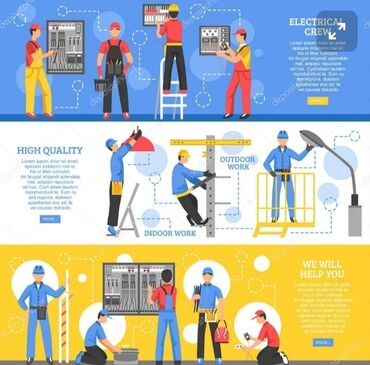 Услуги электрика электро мантаж любой сложности