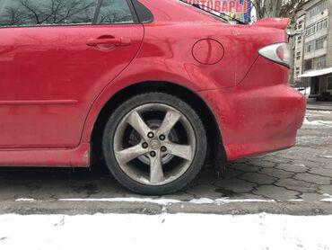 шины 21560 r17 лето в Кыргызстан: Меняю R17 диски на железные   R16   Есть комплект зимней резины R 16