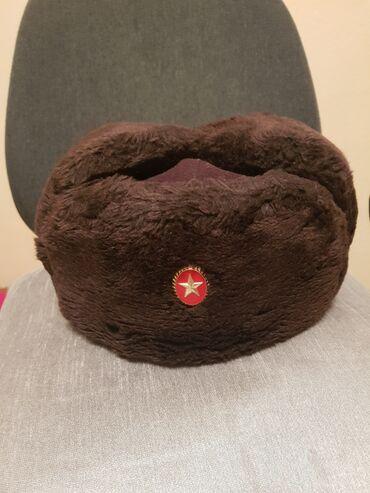 Шапка ушанка для военнослужащих в кыргызской армии, торг возможен