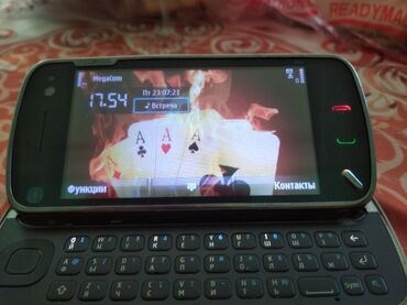 Электроника - Кара-Суу: Nokia N97   2 ГБ   Серый Б/у   Сенсорный