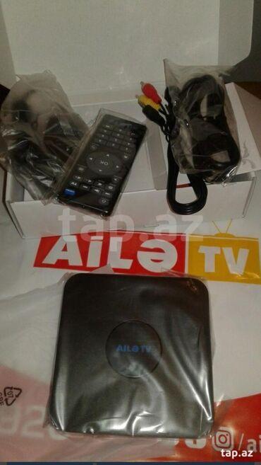 TV/video üçün aksesuarlar - Azərbaycan: Aile tv smart YouTube var Barter ederem telefonla