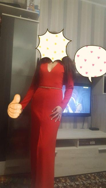Вечерняя платья с вырезом. Одевала только один раз в Бишкек