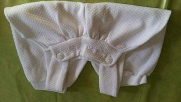 Pantalonice za bebe vel.6/9 meseci(ocuvane,bele boje bez fleka) - Petrovac na Mlavi