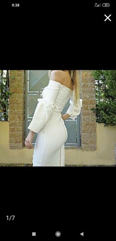 Vesper άσπρο φόρεμα. Αφόρετο αρχική τιμή 100€