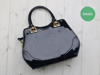 Лакированная женская сумка от бренда SCARLETON Высота: 26 см Ширина: 3