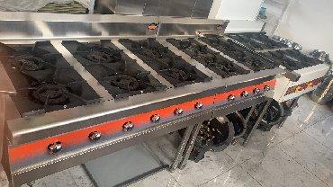 плита елена в Кыргызстан: Газ плиты для кафе