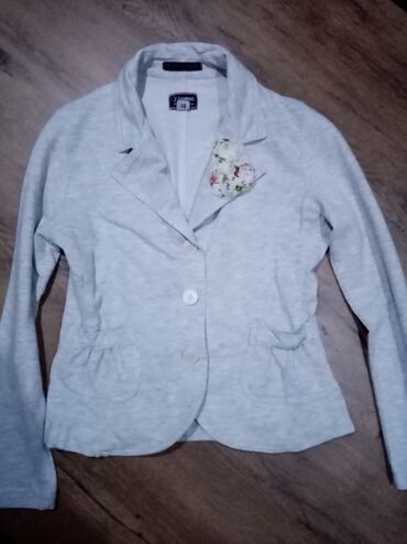 Dečija odeća i obuća - Nova Pazova: Pamučni sako u odličnom stanju bez ikakvih tragova nošenja