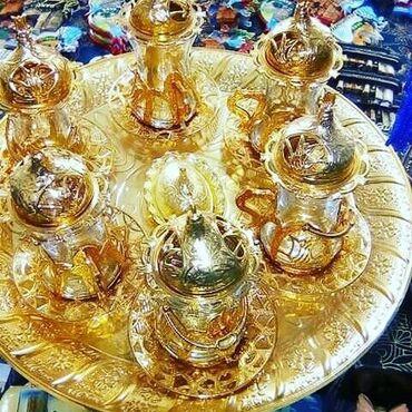 sud - Azərbaycan: Cay seti 50azn.Matrial mis ve demir qarisignan duzelib, qizil suyuna