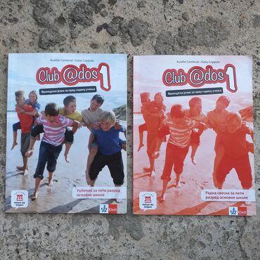 Knjige, časopisi, CD i DVD | Obrenovac: Club ados 1 - udžbenik i radna sveska za 5. razred Klett Maksimalno su