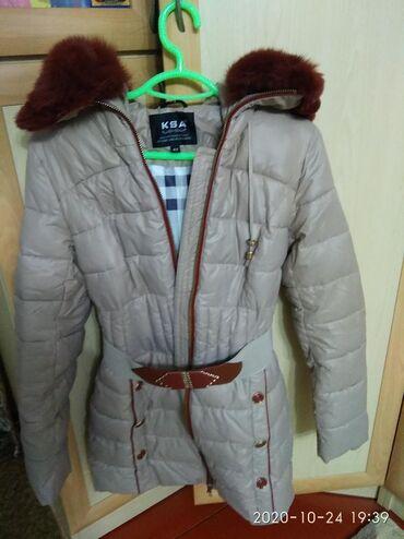 Продаю куртку женскую размер 42 с копюшоном