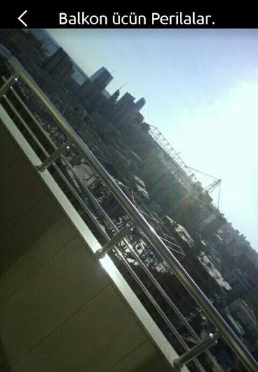 Bakı şəhərində Balkon ücün perilaların sifarişi
