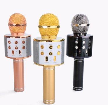 KARAOKE bluetooth mikrofon sa zvucnikom i radio prijemnikom u sebi  - Beograd