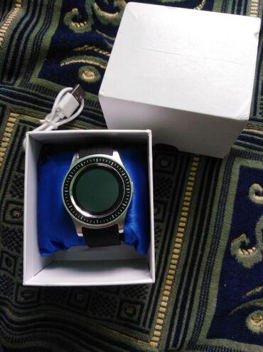 21 elan | ŞƏXSI ƏŞYALAR: Smart Watch S1. Saat heç işlənməyib. USB-si qutusu var.  Xüsusiyyətlər