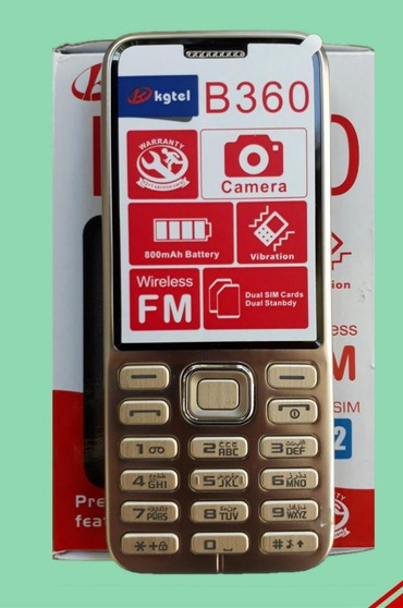 kgtel-b360 - Azərbaycan: Kgtel b360. Telefon yenidir. hər 2 nomrəsi qeydiyatlıdır. Hədiyyə