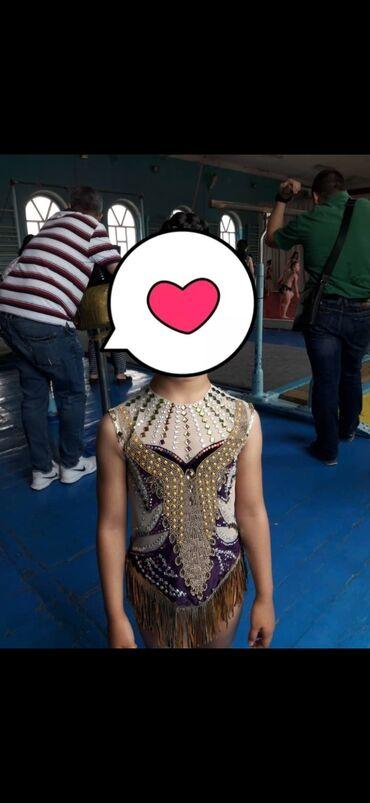 Спорт и отдых - Кыргызстан: Продаю купальник для художественной гимнастики,на 6,7 лет