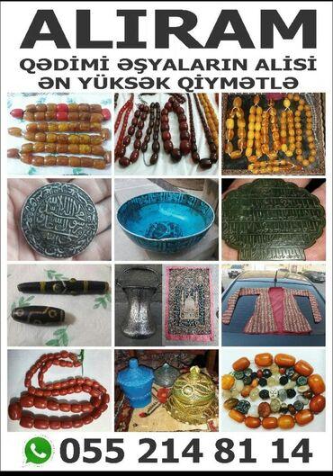 Xidmətlər - Azərbaycan: Qedim eşyalar aliram watsapda resmini ata bilersiz