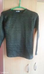 Crna bluza sdugim rukaviz italij - Srbija: Savrsena crna bluza,predivnog dezena,rastegljiva je i potpuno