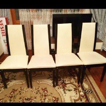 Govsany şəhərində Masa açılmamış vəziyyətdə 1.70 açılanda 2.25 olur.6stul acilan stol