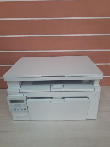 Принтер МФУ HP 3 1 Laser jet Pro MFP M130nw отличном состояние