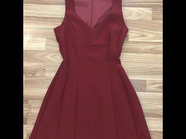 mango шорты в Кыргызстан: Платье новое от Mango 36 размер цвет бардовый