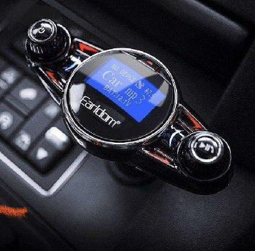 audio 80 - Azərbaycan: Earldom Car FM Transmitter MP3 + Charger + Aux Audio with Version