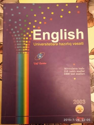English Universitetlərə hazırlıq vəsaiti. 5Azn. Mingəçevir