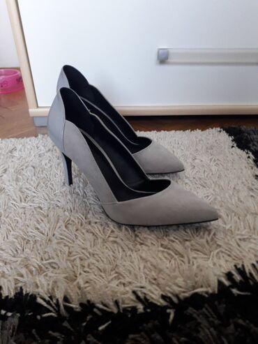 Cm obim tamno sive - Srbija: Cipele sive