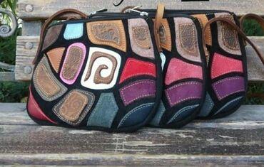 Косилка ручная - Кыргызстан: Женская сумка из натуральной кожи ручной