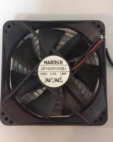 системы охлаждения ekwb в Кыргызстан: Martech DF1202512XZLI 12 VDC 0.12A 1.4W вентилятор охлаждения