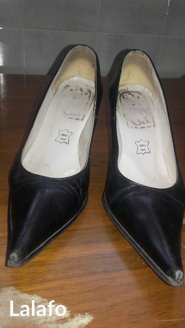 Kozne crne cipela br 37 - Kraljevo - slika 2