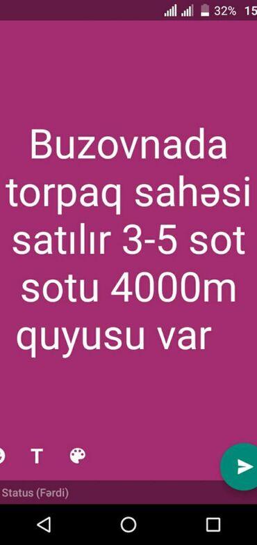 Torpaq sahəsi satılır 3 sot Mülkiyyətçi