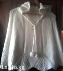 вязание пальто кардиганы пончо в Кыргызстан: Накидка - пончо. турция. размер 44 - 48. отличное качество!